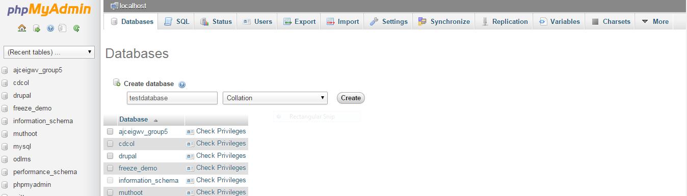 database_create